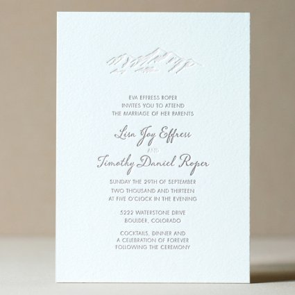 elegant mountain wedding invitation - Mountain Wedding Invitations