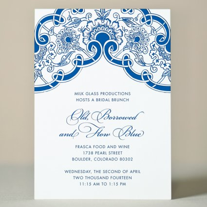 vintage lace wedding invitation - Vintage Lace Wedding Invitations