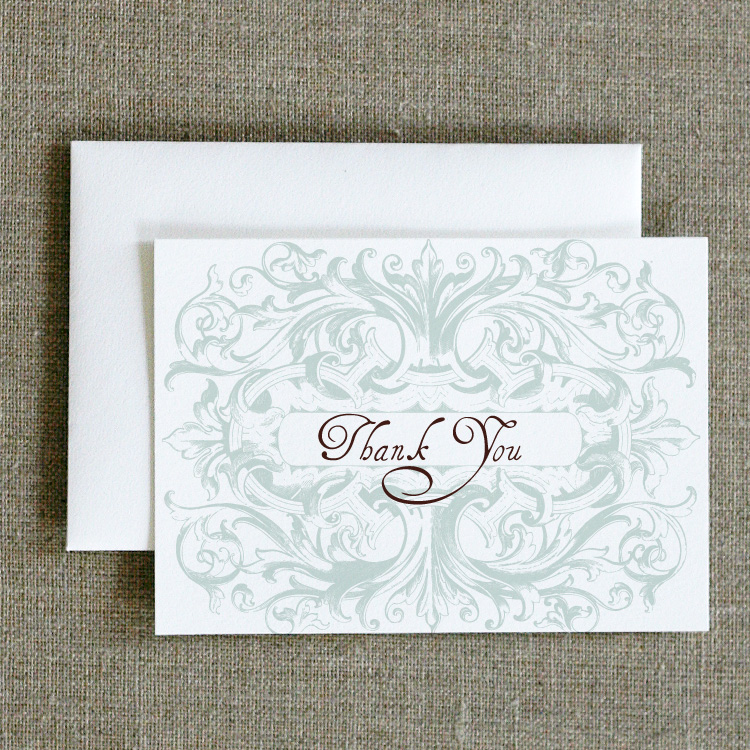 Gatsby Thank You Notes