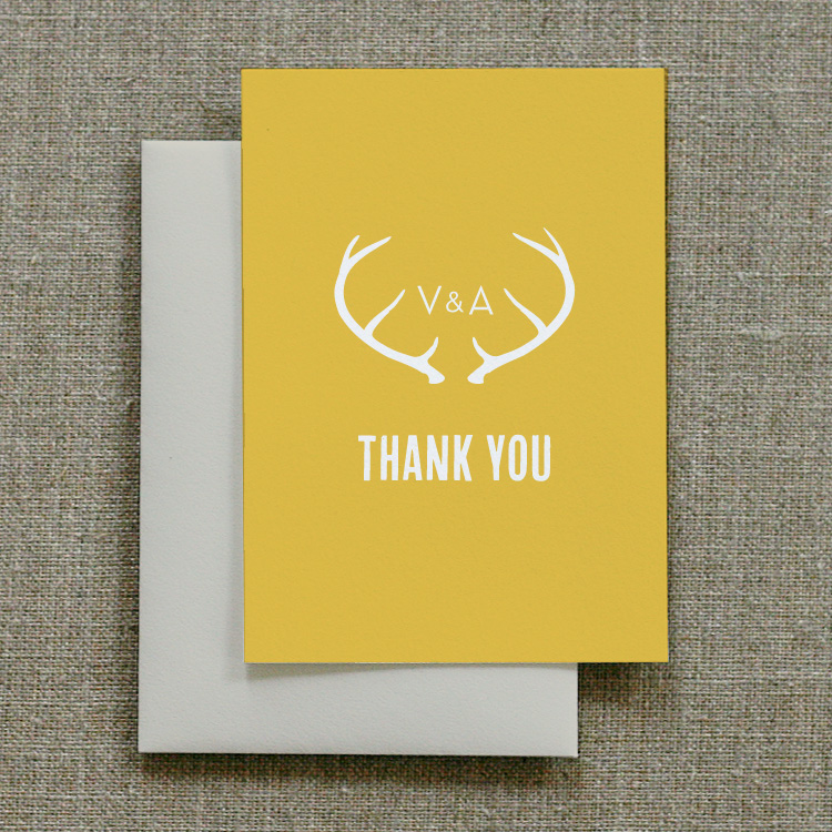 Antler Thank You Notes