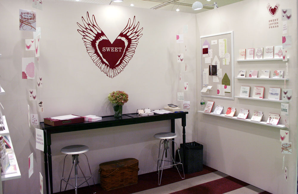 Sweet Letter 2009 NSS Booth