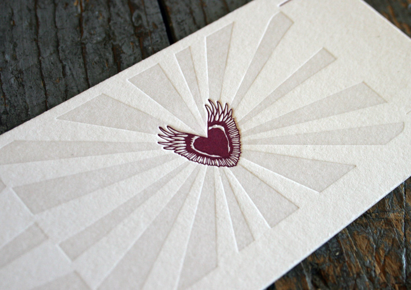 Sweet Letter 2010 business card