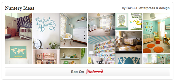 SWEET Nursery Inspiration on Pinterest