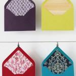 4 patterned envelope liners