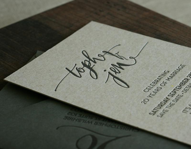 Parties Wedding Invitations Letterpress – Letterpress Party Invitations