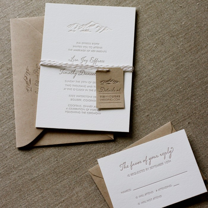 April | 2014 | Wedding Invitations | Letterpress | Eco Friendly ...