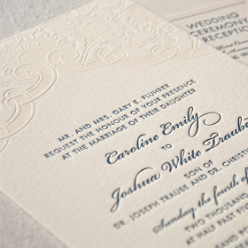 vintage-lace-letterpress-wedding-invitation