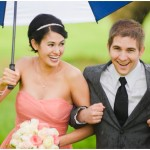 bridesmaid-laughing-rain