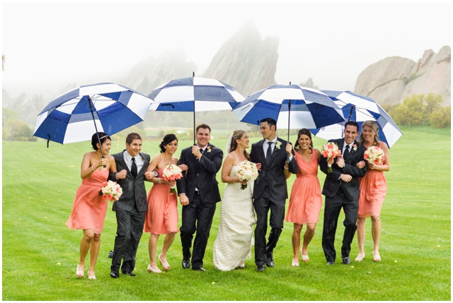 wedding part umbrellas