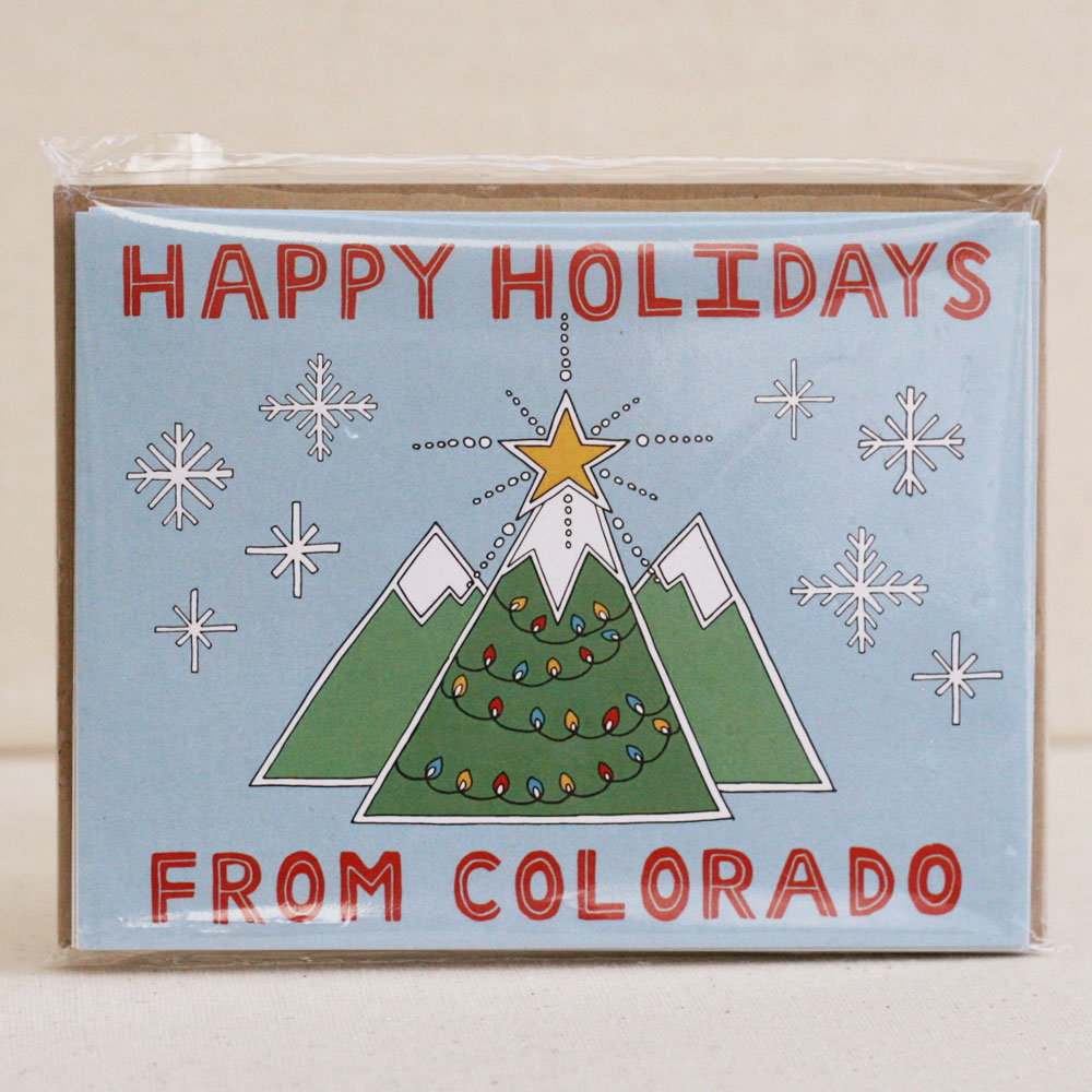 Happy Holidays from Colorado