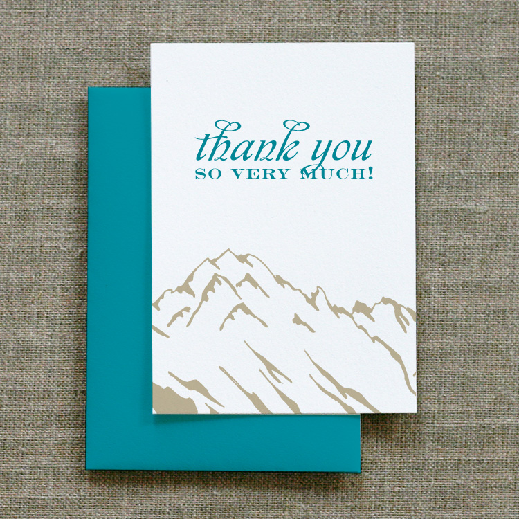 Ouray Thank You Notes