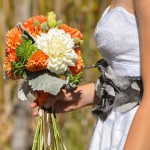 Brides's bouquet
