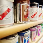 Rubber based ink cans