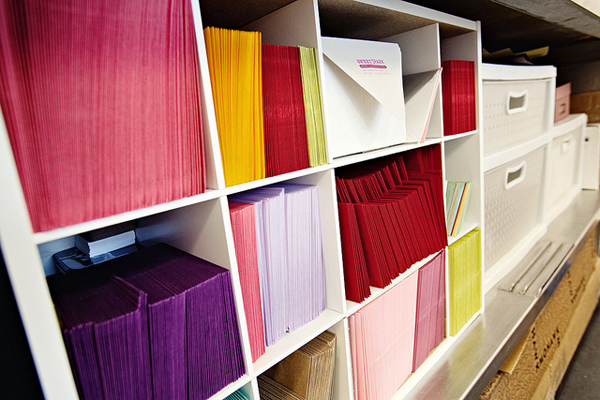 Envelopes and paper supplies