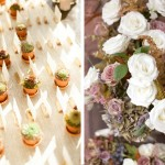 Placecards and succulents