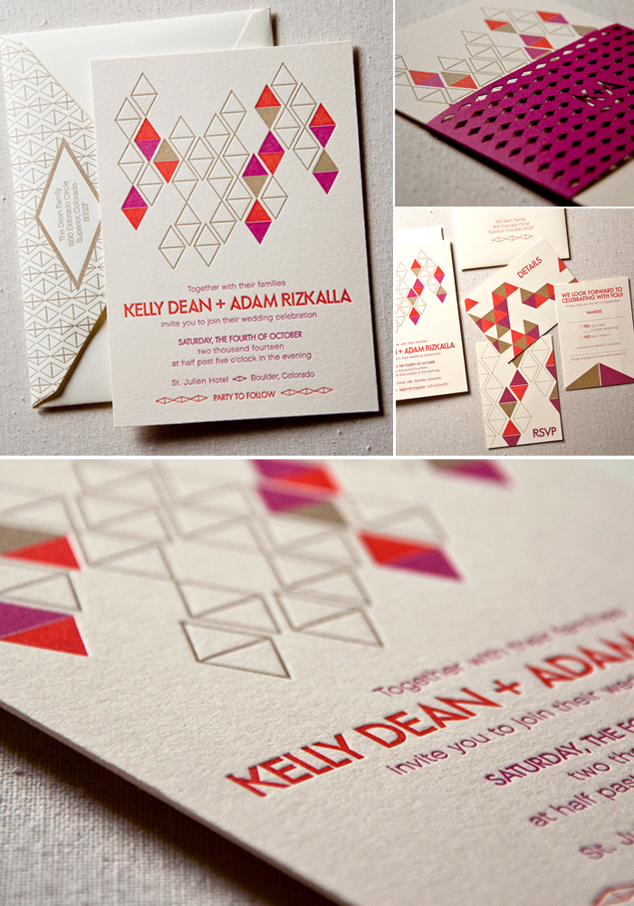 mid-century-geometric-letterpress-wedding-invitation